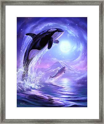 Touch The Sky Framed Print by Jeff Haynie