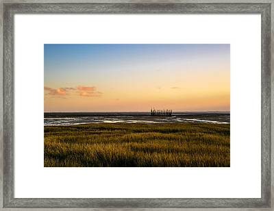 Touch The Sky Framed Print by Thierry Bouriat