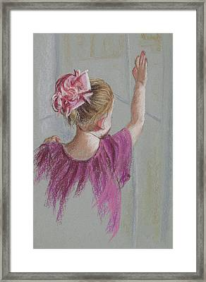 Touch The World Framed Print by Jocelyn Paine