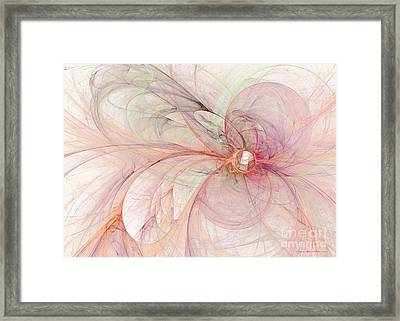 Touched By An Angel Framed Print by Sipo Liimatainen