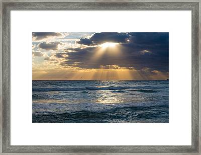 Touched By Heaven Framed Print by Lynn Bauer