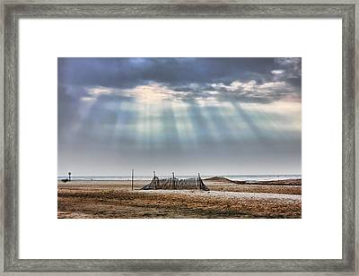 Touched By Heaven Framed Print by Sennie Pierson