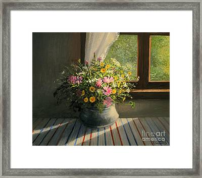 Touched By The Sun Framed Print by Kiril Stanchev