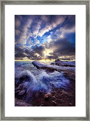 Touched So Divinely Framed Print