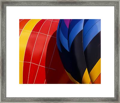 Touching Framed Print by Ken Evans