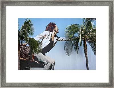 Touching The Canopy.  Framed Print by Menachem Ganon