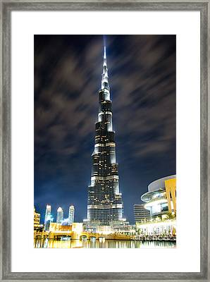 Touching The Sky Framed Print by Syed Aqueel