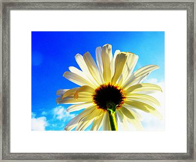 Touching Your Dream Framed Print by Karen Horn