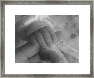 Framed Print featuring the photograph Touching Your Heart by Zinvolle Art