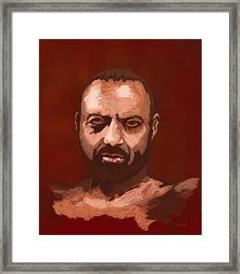 Tough Guy Framed Print by Tim Stringer