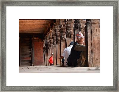 Tough Life Framed Print by Aaron Bedell