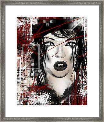 Tough Love Framed Print by Melissa Smith