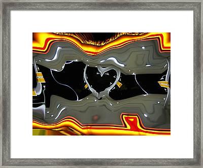 Tough Love Framed Print by Wendy J St Christopher