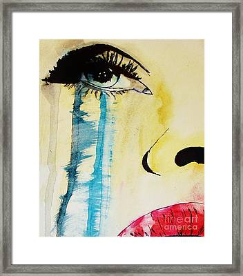 Framed Print featuring the painting Tougher Than You Think 2 by Michael Cross
