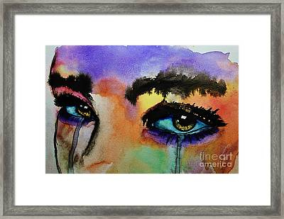 Framed Print featuring the painting Tougher Than You Think by Michael Cross