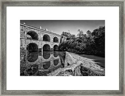 Tounj Bridge Framed Print by Davorin Mance