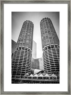 Tour Boat On The Chicago River Framed Print by Paul Velgos
