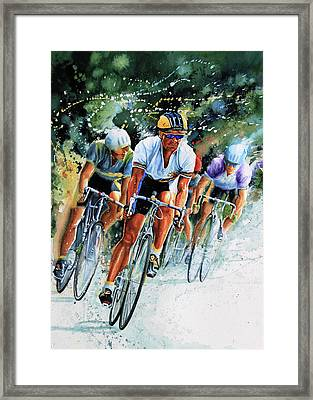 Tour De Force Framed Print by Hanne Lore Koehler