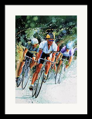 Sport Artist Framed Prints