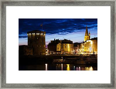 Tour De La Chaine Tower, Old Port, La Framed Print by Panoramic Images