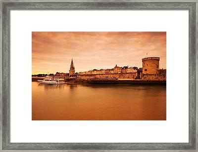 Tour De La Lanterne And Tour De La Framed Print by Panoramic Images