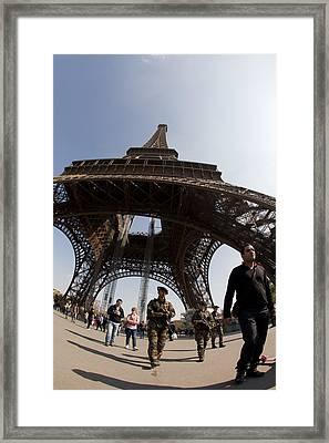 Tour Eiffel 3 Framed Print by Art Ferrier
