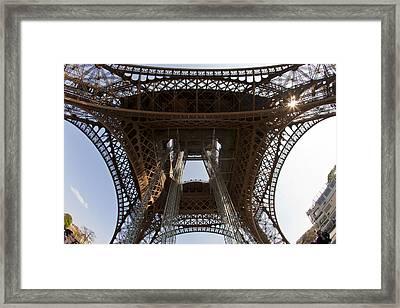 Tour Eiffel 4 Framed Print by Art Ferrier