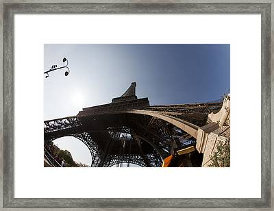 Tour Eiffel 5 Framed Print by Art Ferrier