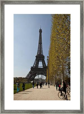 Tour Eiffel 6 Framed Print by Art Ferrier