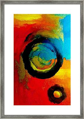Touring A Parallel Universe Framed Print