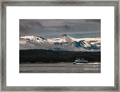 Touring Alaska Framed Print by Robert Bales