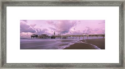Tourist Resort At The Seaside Framed Print by Panoramic Images