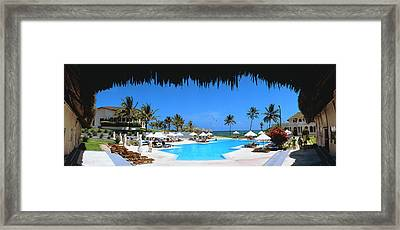 Tourist Resort, Watamu, Kenya Framed Print by Panoramic Images