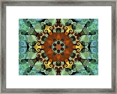 Tourlidou S01-01 Framed Print by Variance Collections