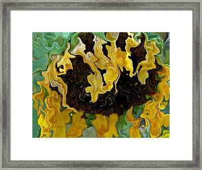 Tournesol Framed Print by Chris Berry