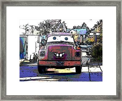 Tow-mator Framed Print by David Alvarez