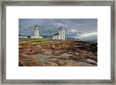 Toward Lighthouse  Framed Print