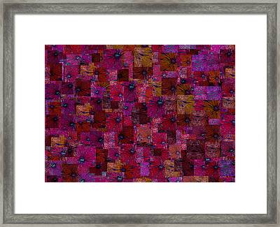 Toward Square Framed Print by Jack Zulli