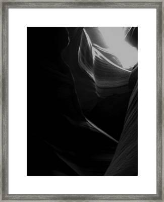 Toward The Light Framed Print by Lovejoy Creations