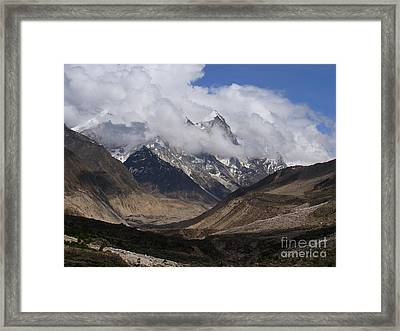 Towards Bhagirathi Framed Print