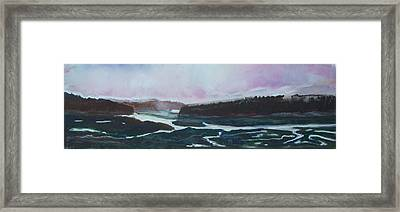 Towards Edgecomb Framed Print by Grace Keown