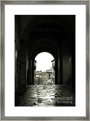 Towards Freedom Framed Print by Syed Aqueel