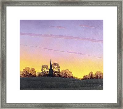 Towards Grandborough Framed Print