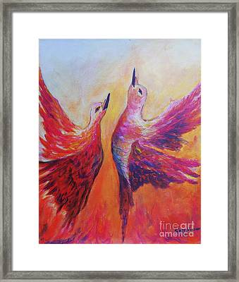 Towards Heaven Framed Print by Sher Nasser