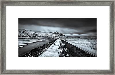 Towards Storidalur Framed Print