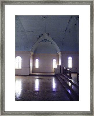 Towards The Alter Framed Print