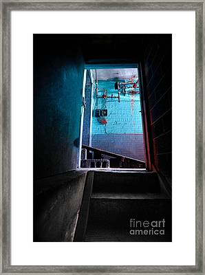 Towards The Glow Framed Print