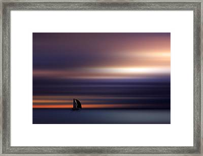 Towards The Light Framed Print by Marek Czaja