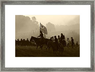Towards The Valley Of Death II - Perryville Framed Print by Thia Stover