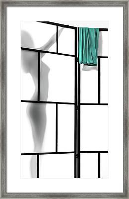 Towel Framed Print